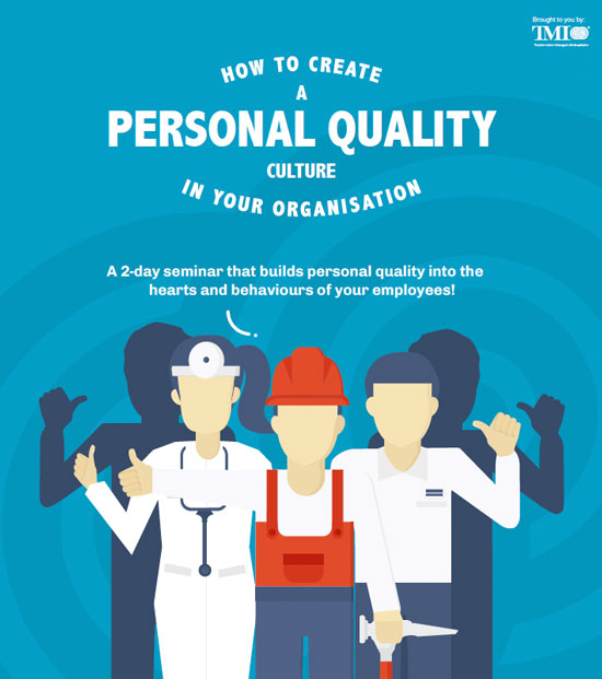 Seminar - HOW TO CREATE A PERSONAL QUALITY CULTURE IN YOUR ORGANISATION