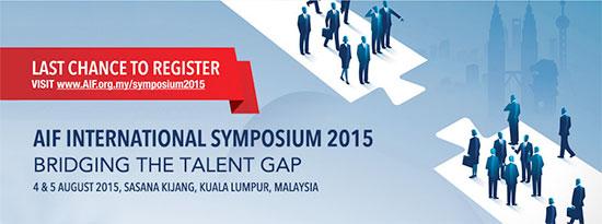 AIF International Symposium 2015