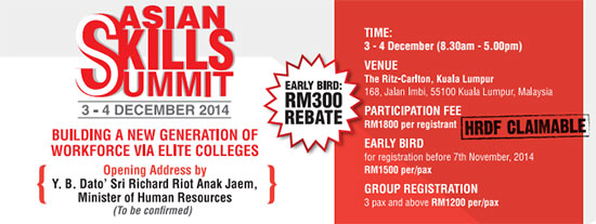 Asian Skills Summit 2014