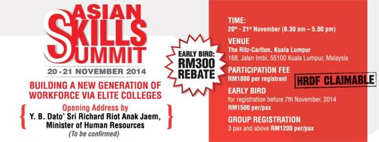 Asian Skills Summit 2014